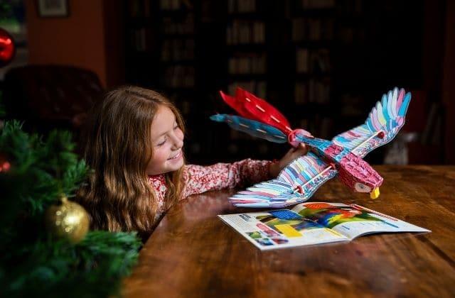 Voici une chouette activité pour occuper vos nièces et neveux à Noël !