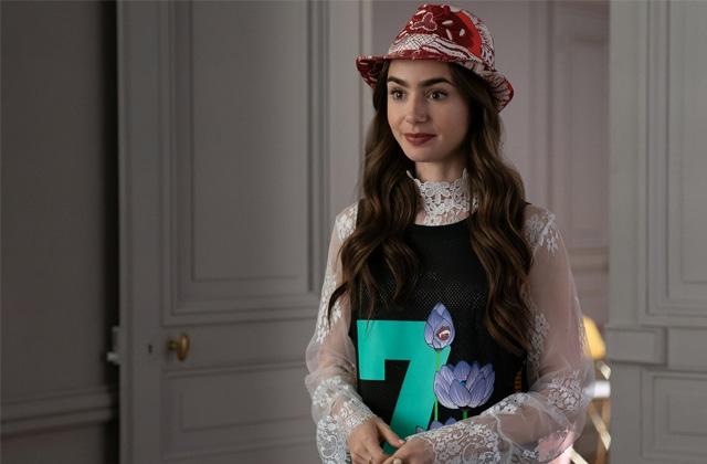 « Emily in Paris » est en tête du classement des plus grosses influences mode de 2020