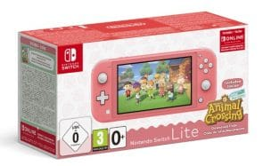 Le pack Nintendo Switch Lite + Animal Crossing est là, à moins de 220€ !