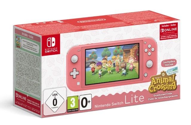 Le pack Nintendo Switch Lite + Animal Crossing est là, à moins de 220€!