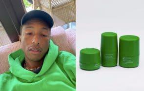 Pharrell Williams, le chanteur qui ne vieillit pas, lance sa gamme de skincare unisexe