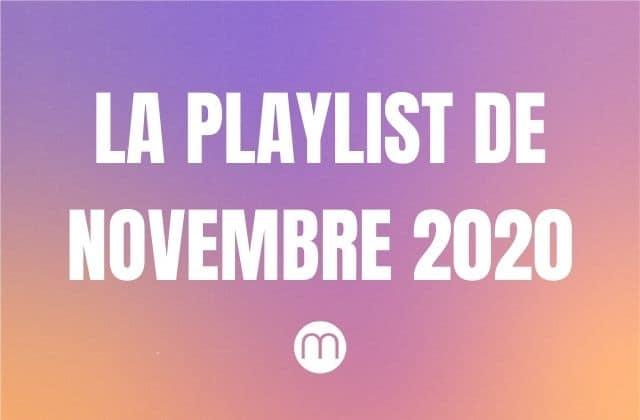 Cassandre vous offre sa playlist de novembre 2020, avant de quitter madmoiZelle!