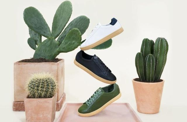 On a trouvé les toutes premières sneakers vegan fabriquées en cuir de cactus