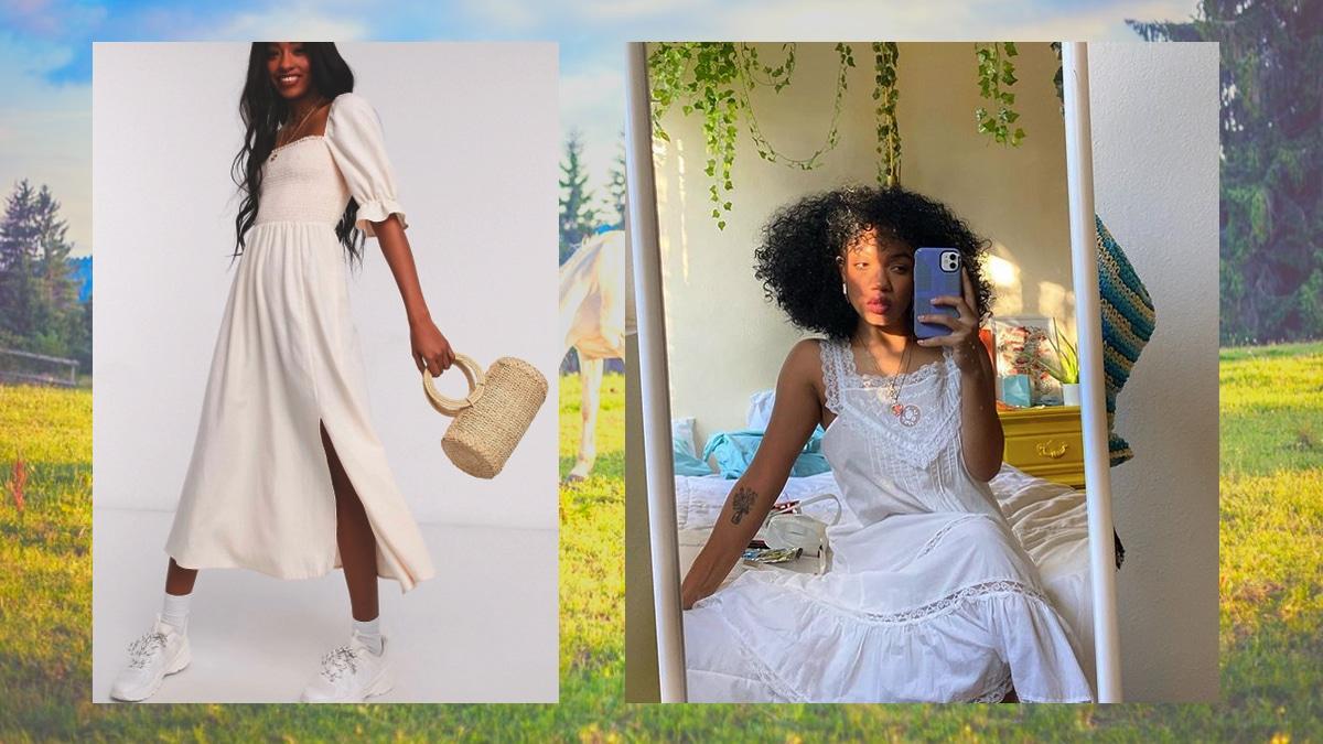 La robe façon chemise de nuit rétro a désormais un nom et elle explose les ventes