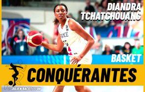 Diandra Tchatchouang, basketteuse engagée dans les causes féministes et anti-racistes