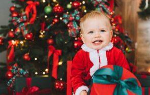 Sélection de cadeaux de Noël pour les bébés de 0 à 12 mois