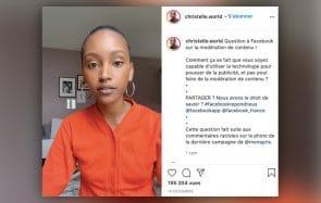 Victime de racisme sur Facebook, la mannequin Christelle Yambayisa en dénonce la modération défaillante