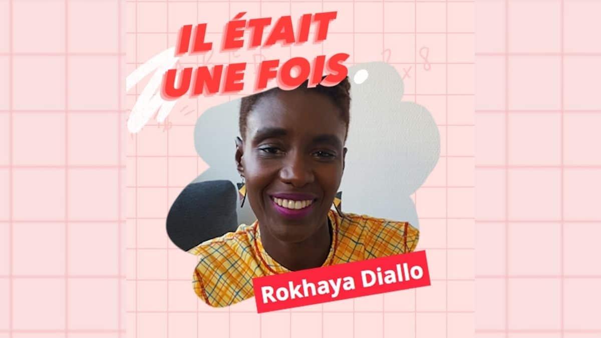 Rokhaya Diallo en interview vidéo dans «Il était une fois»