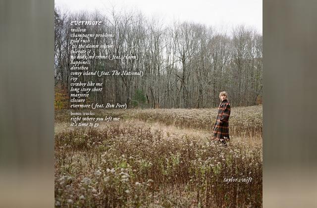 Taylor Swift a sorti un nouvel album, voici où écouter «evermore »!