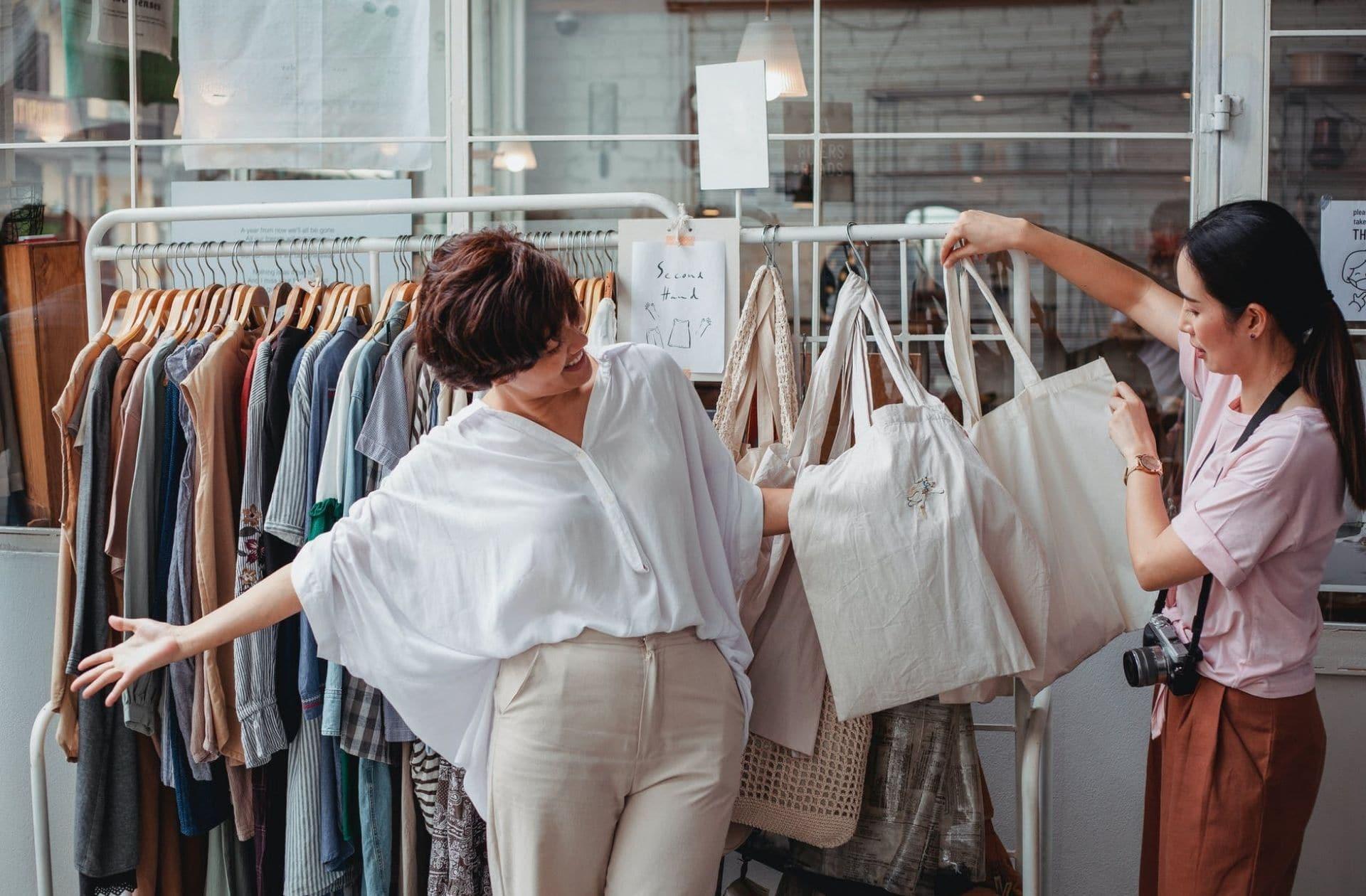 La Boutique sans argent, une chouette idée écologique et solidaire