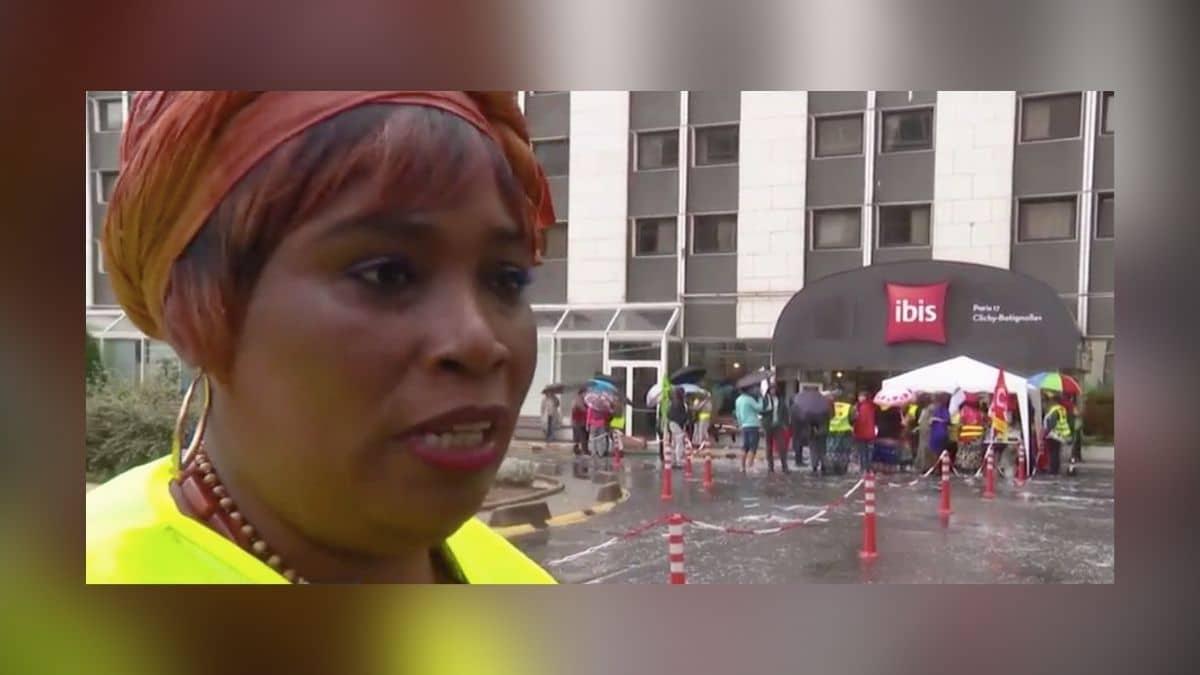 Les grévistes de l'hôtel Ibis Batignolles entament leur 18e mois de lutte