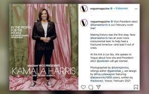 Suites aux critiques, «Vogue» sort une nouvelle une avec Kamala Harris
