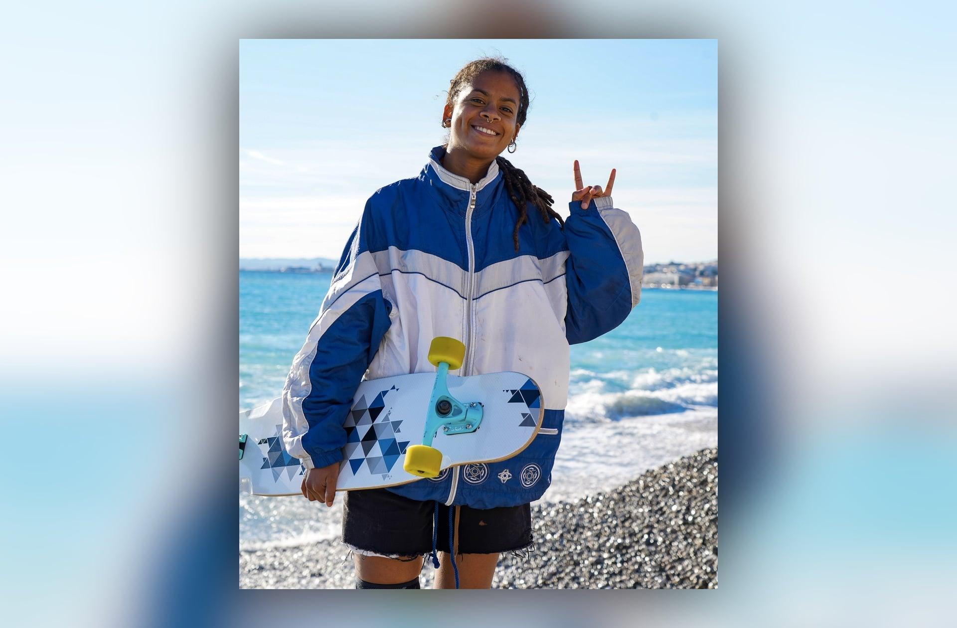 Comment Marina Correia est devenue la première femme noire championne du monde de longboard dancing