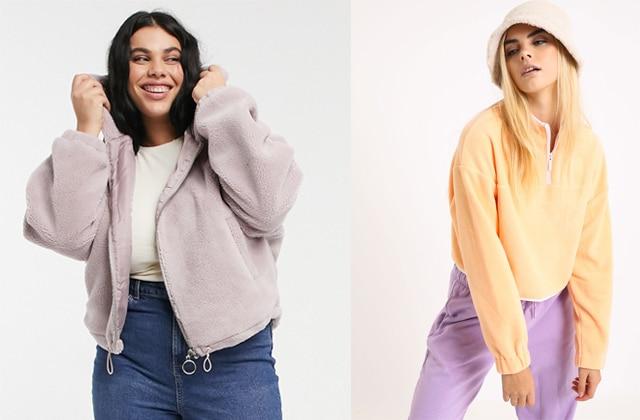 Comment porter la veste en polaire, tendance douillette de l'hiver
