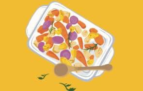 La recette de saison, édition janvier:le panaché de légumes rôtis