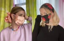 Accorder son masque avec un scrunchie XXL, un mood pour 2021