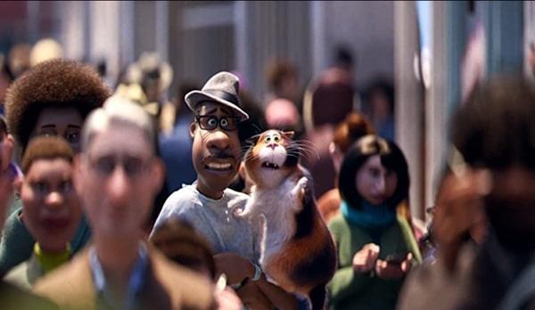 Le chat dans le film Disney Pixar : Soul