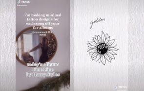 Sur TikTok, ces tatouages subtils inspirés de Harry Styles font le buzz
