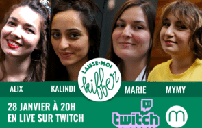 Rejoignez la team de Laisse-moi kiffer en live sur Twitch CE SOIR à 20 heures !