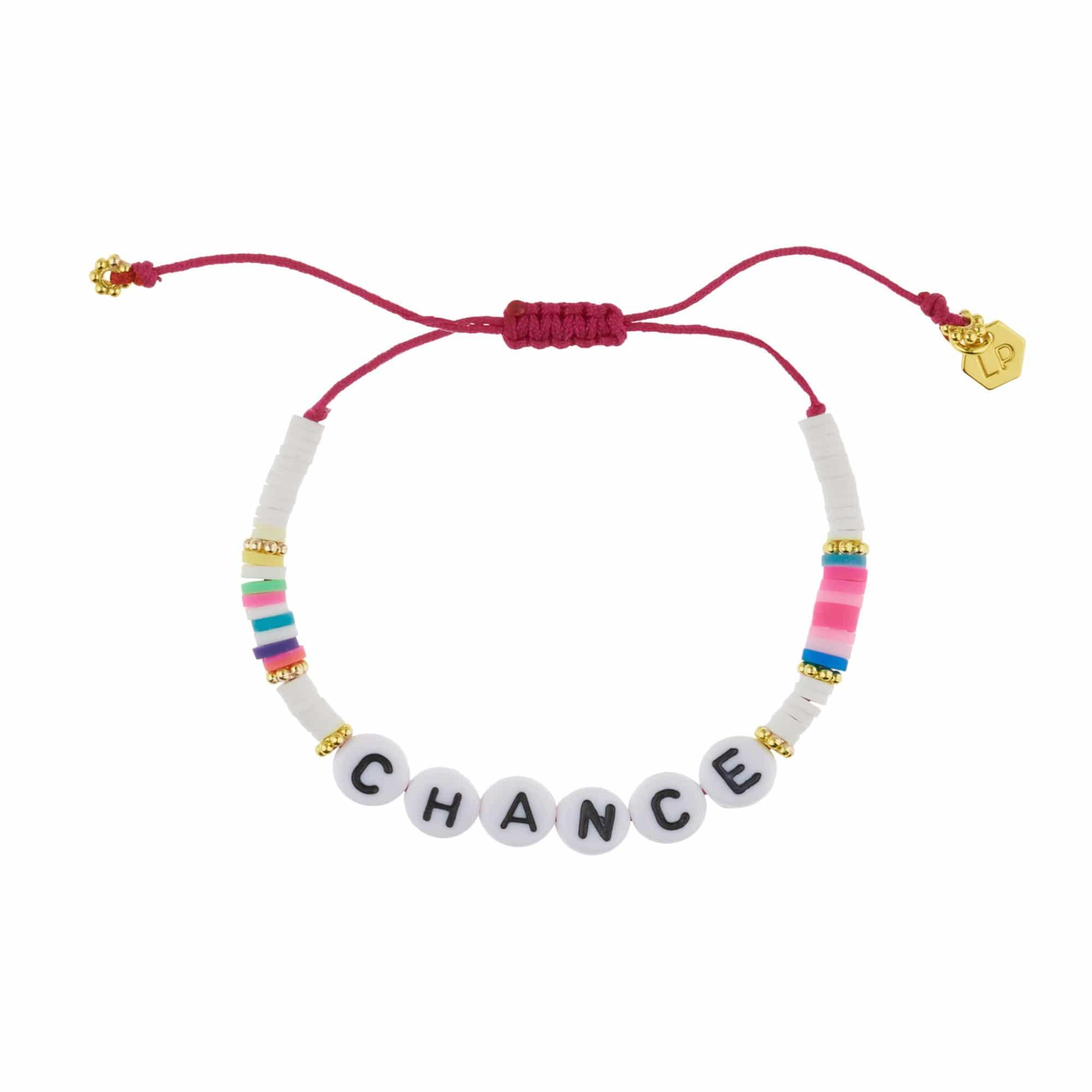 Bracelet à message, Louis Pion, 19€.