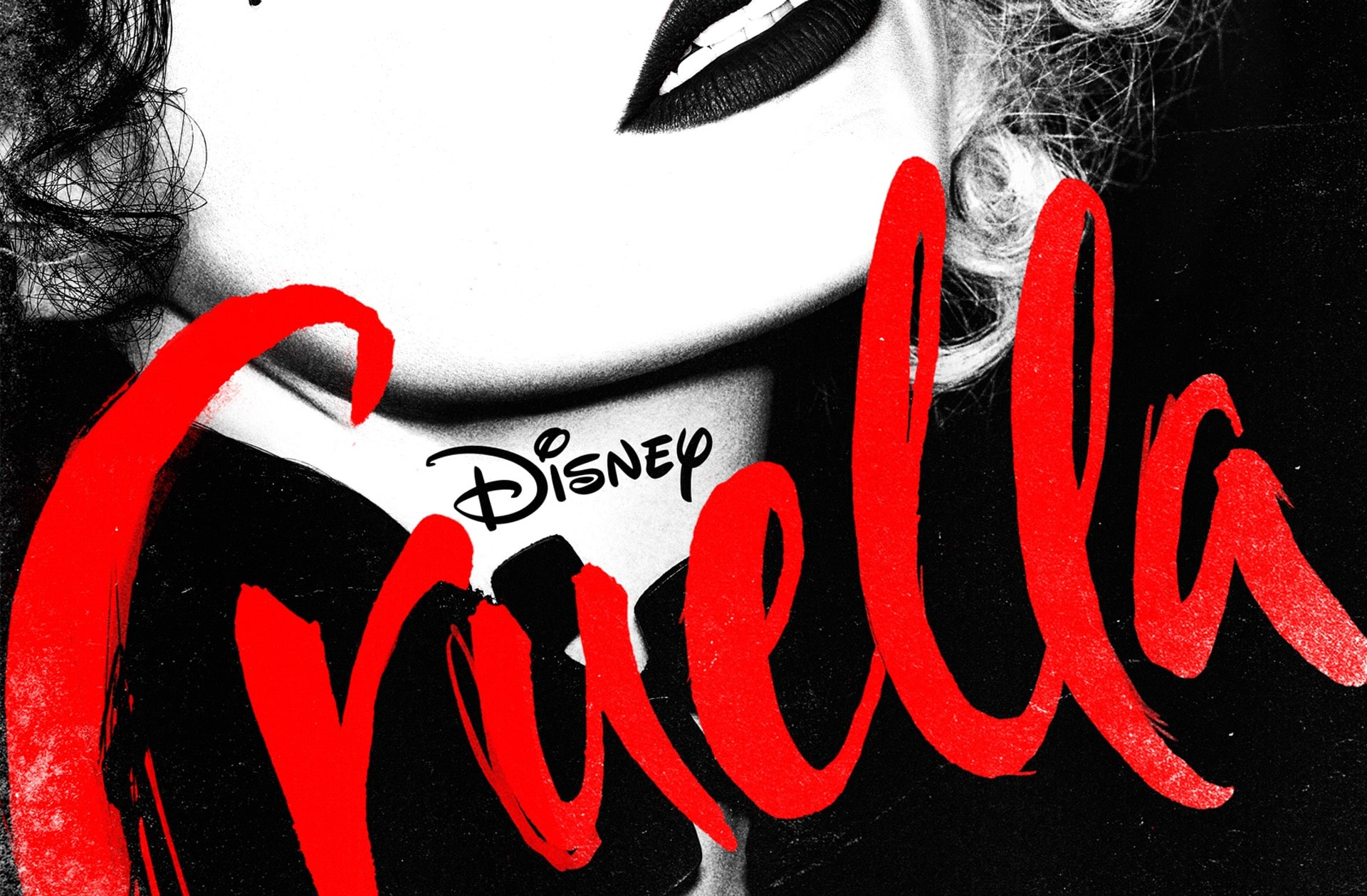 Emma Stone en Cruella, ça donne ça!