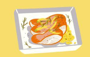 La recette de saison, édition février:le pavé de saumon au fenouil poêlé