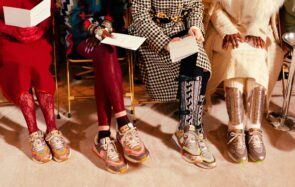 Des sneakers Gucci