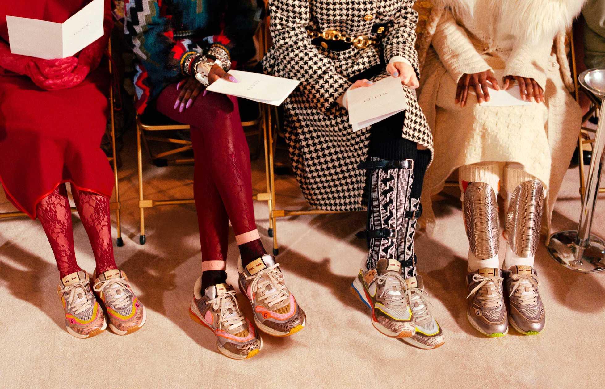 Des sneakers Gucci