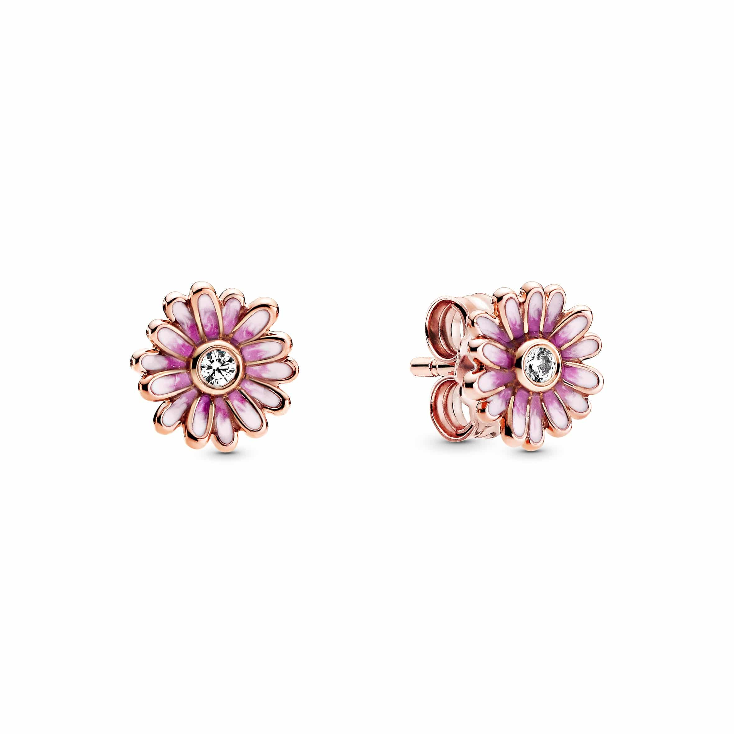 boucles d'oreilles de la collection Pandora Garden