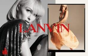 Paris Hilton incarne la collection printemps-été 2021 de la maison Lanvin