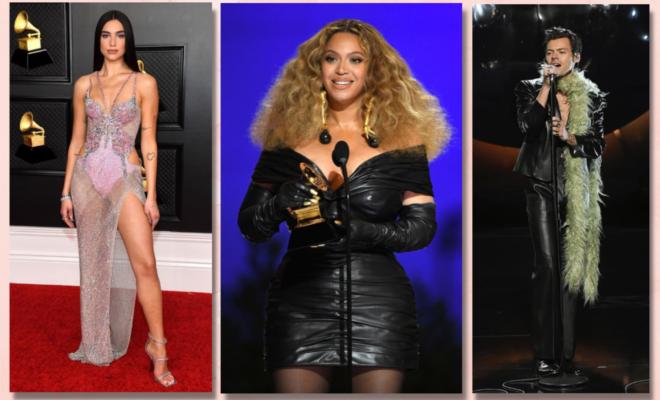Les-artistes-Dua-Lipa-Beyoncé-et-Harry-Styles-à-la-cérémonie-des-Grammys-Awards-2021-660x400.png