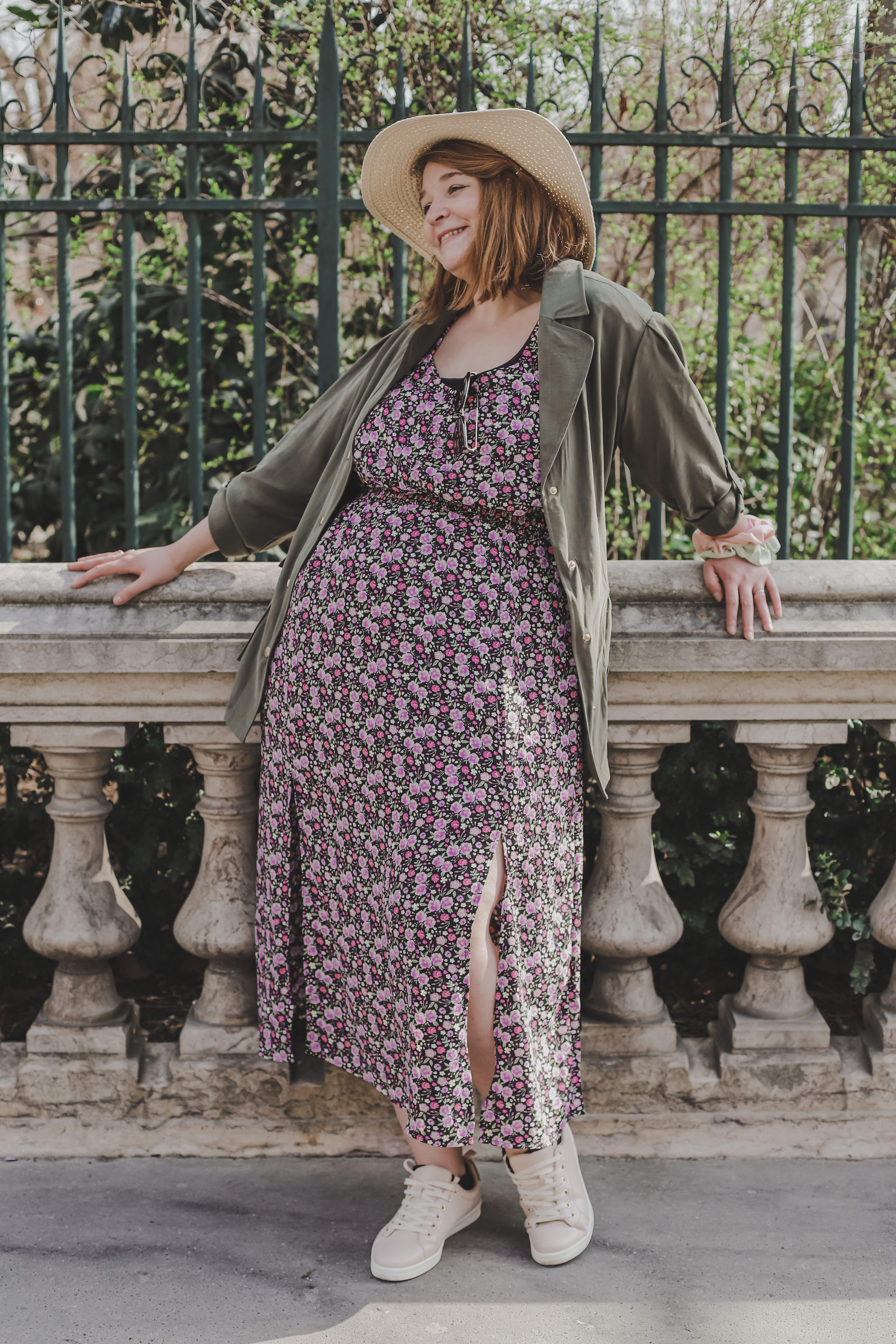 manon, rédactrice Madmoizelle habillée avec la nouvelle collection Kiabi
