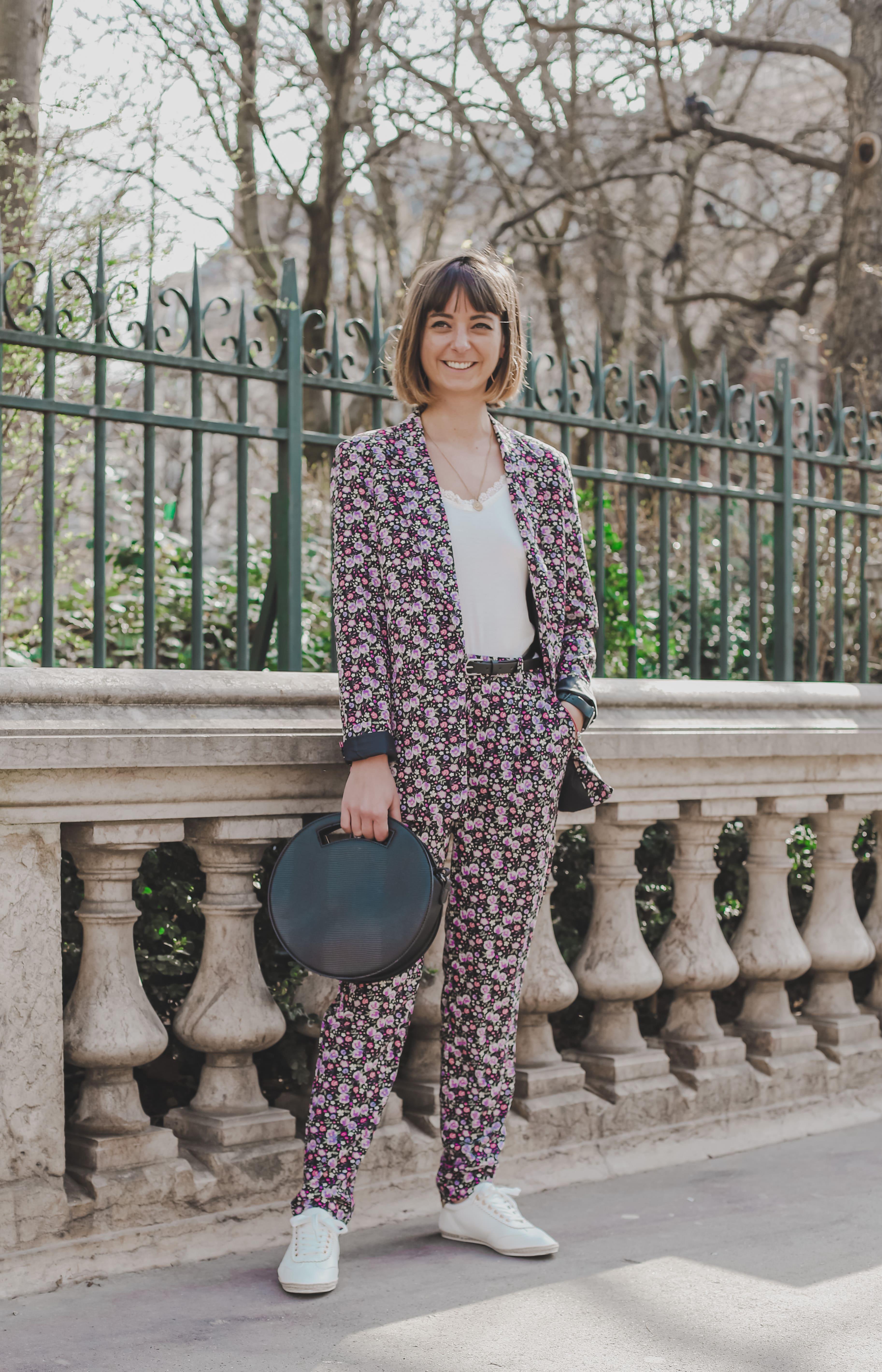 Margaux, rédactrice Madmoizelle habillé avec la nouvelle collection Kiabi