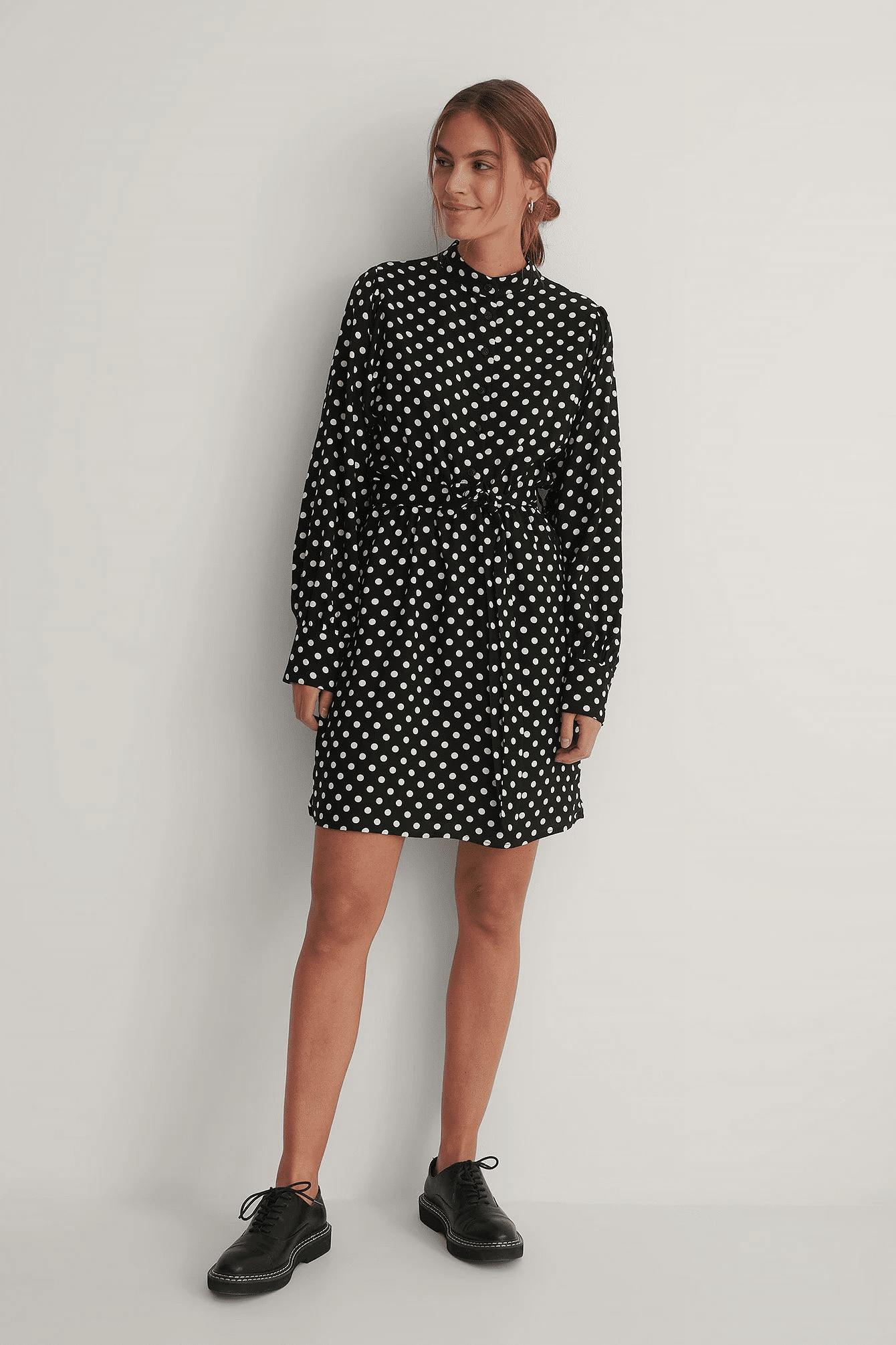 Robe mini à pois, NA-KD, 44,95€.