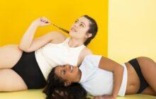Héloïse Martin pose pour la campagne de lancement de la culotte menstruelle Artémis de Smoon