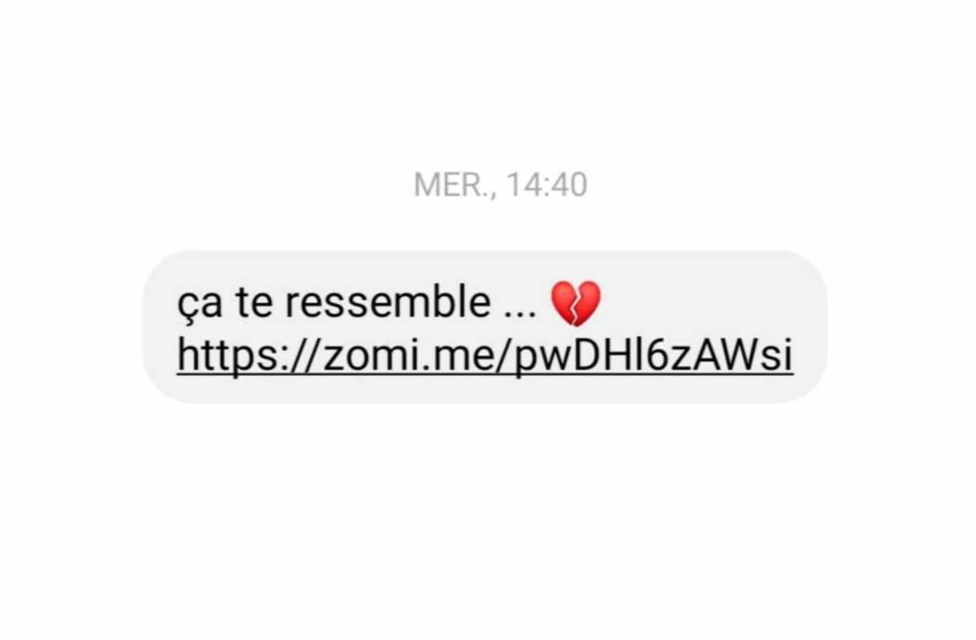 Ne cliquez pas sur ce message Messenger: votre ex n'est pas de retour, il a juste été piraté