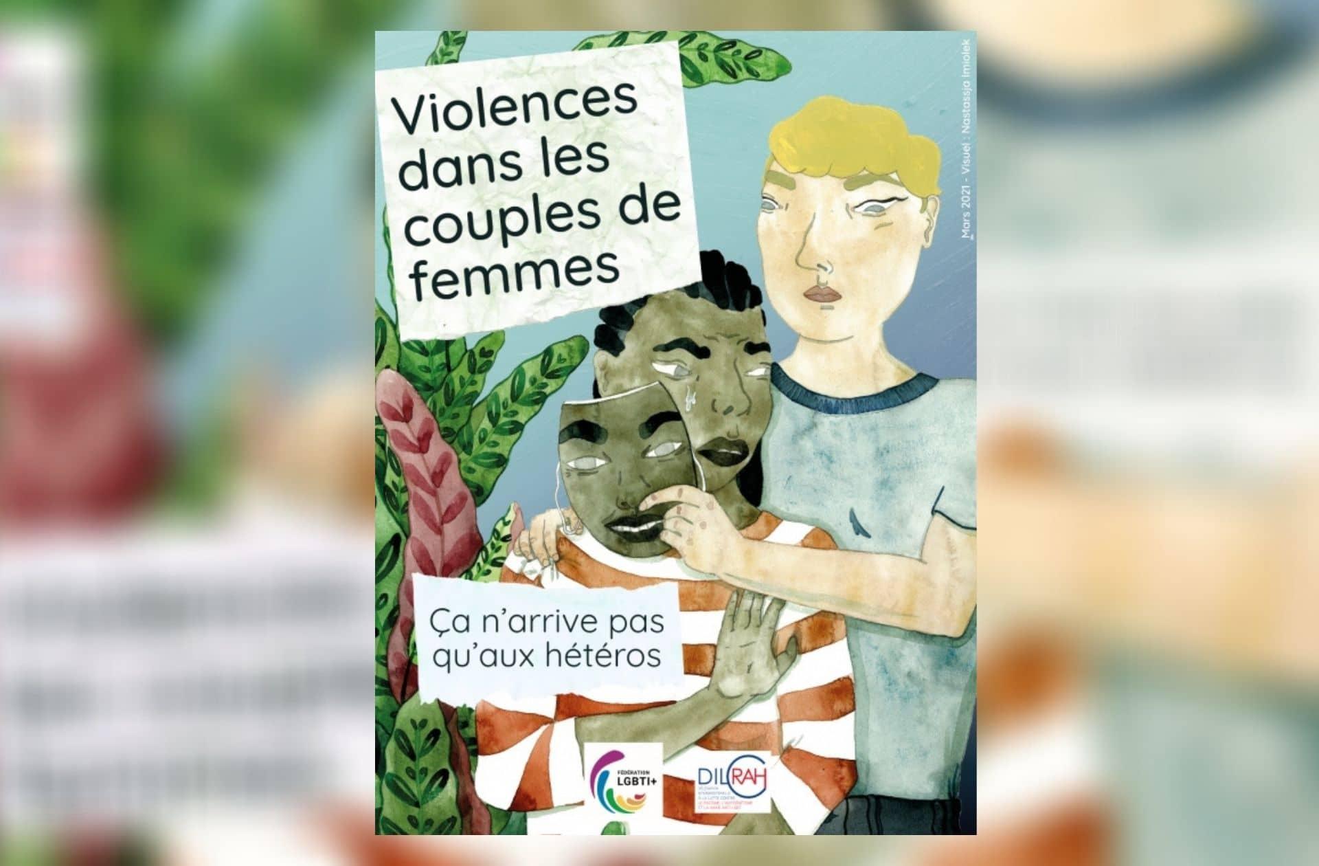 «Ça n'arrive pas qu'aux hétéros»:une campagne contre les violences dans les couples de femmes