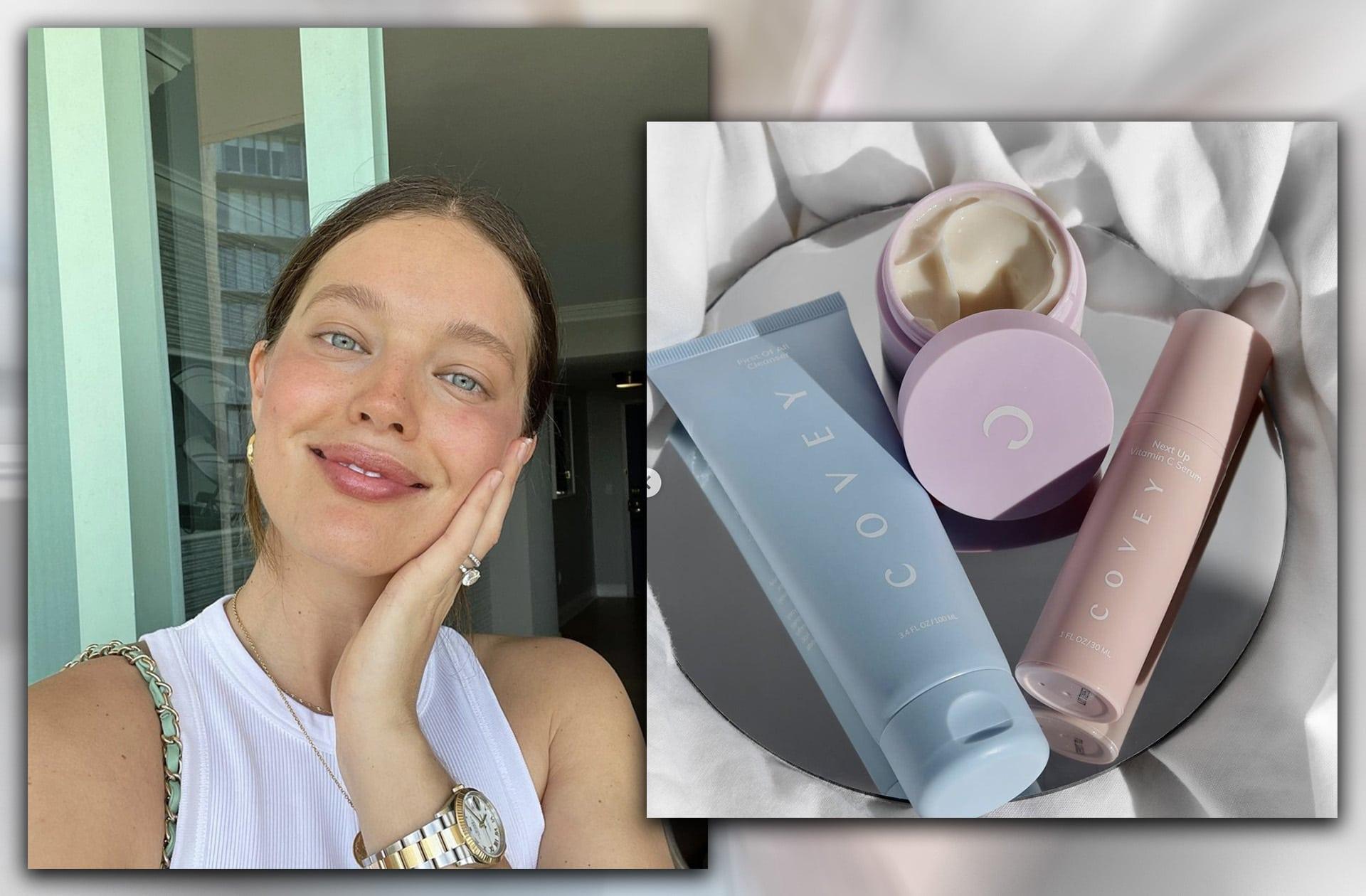 La marque de cosmétiques de la mannequin Emily DiDonato vient de sortir et elle semble prometteuse