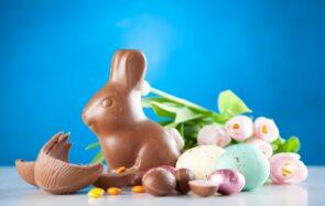 Sélection de chocolats de Pâques pour les enfants (c'est faux, on va tout bouffer)