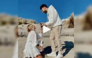 L'influenceuse Romy demande son mec en mariage en vidéo, et ça nous change