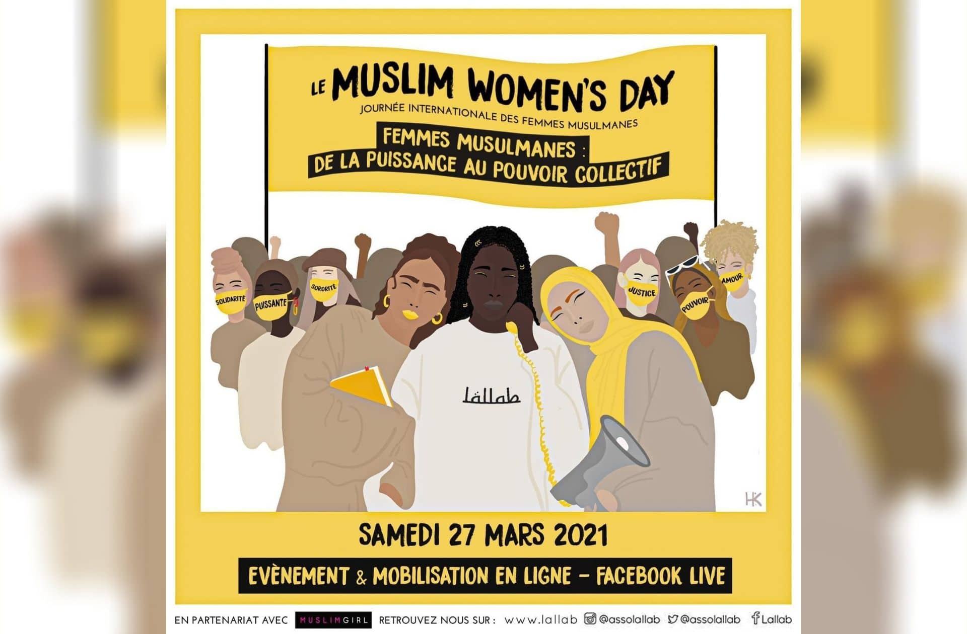 La Journée internationale des Femmes Musulmanes, c'est demain:voici le programme!