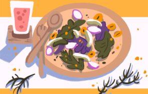 La recette de saison, édition mars:une salade composée qui cale vraiment bien
