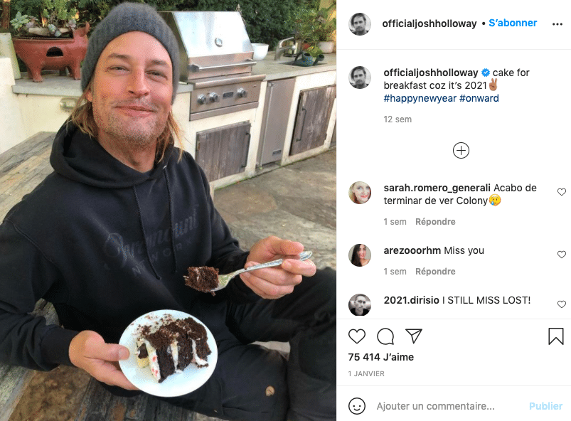 Josh Holloway-Sawyer : aujourd'hui