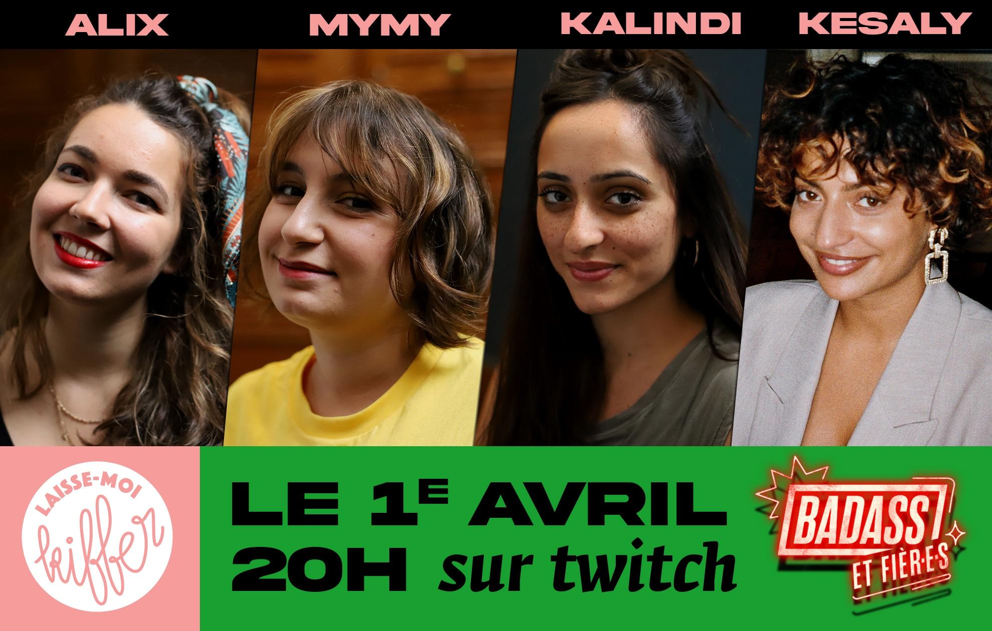 Live Twitch exceptionnel pour «Laisse-moi kiffer» ce 1er avril à 20h!