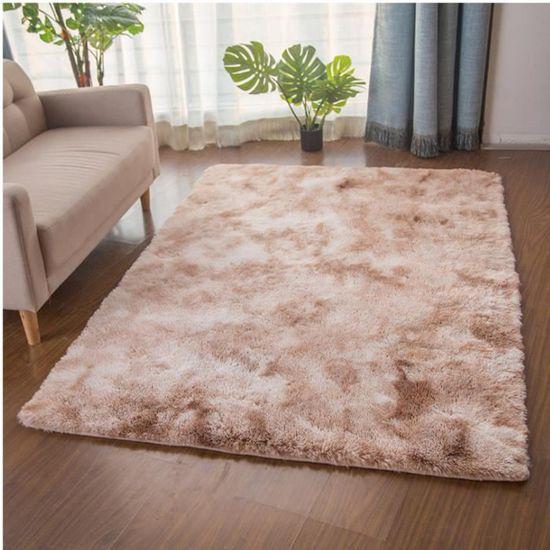 Tapis en laine de soie