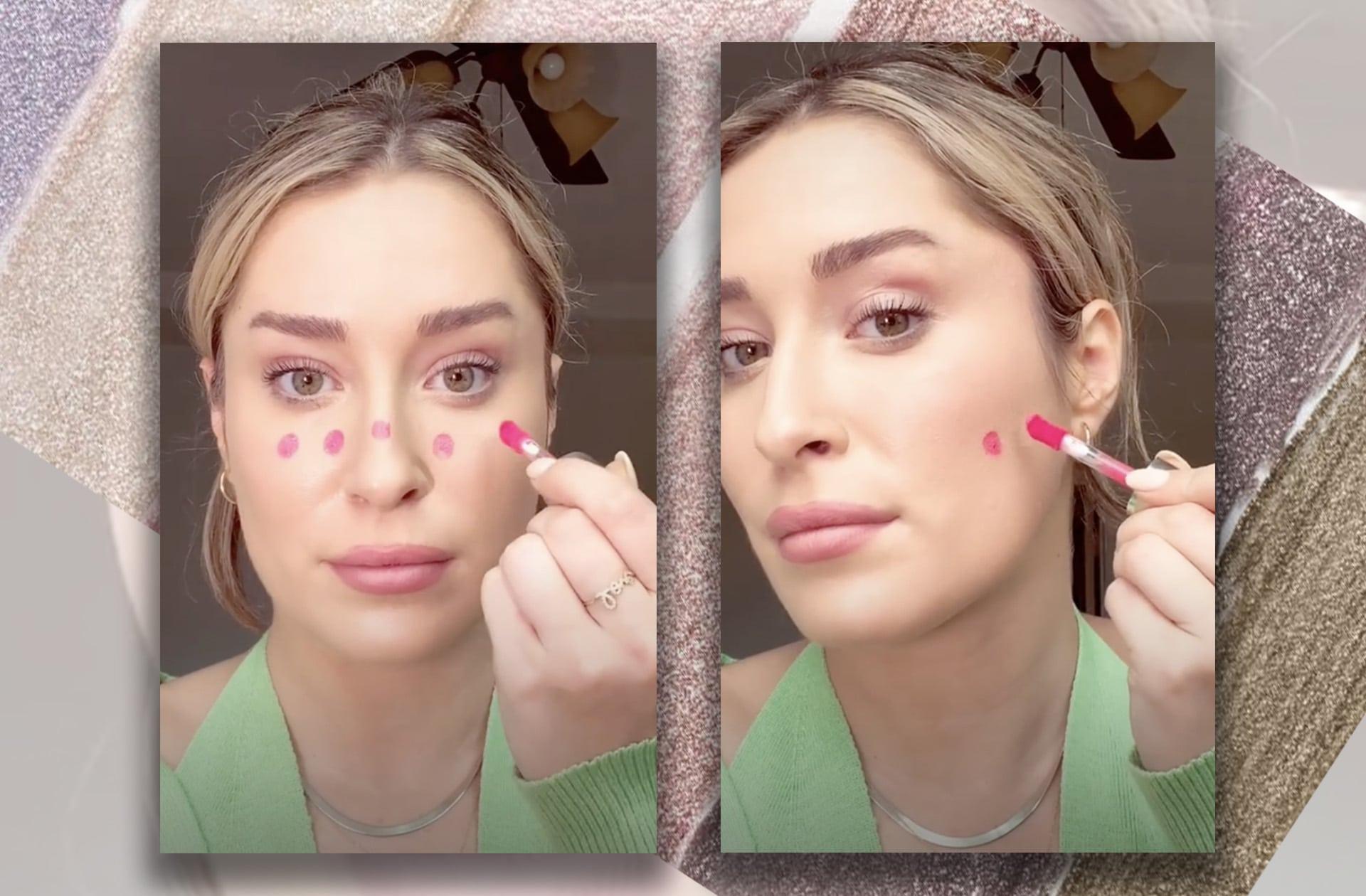 Et si la simple application d'un blush avait le pouvoir de changer la forme de votre visage?