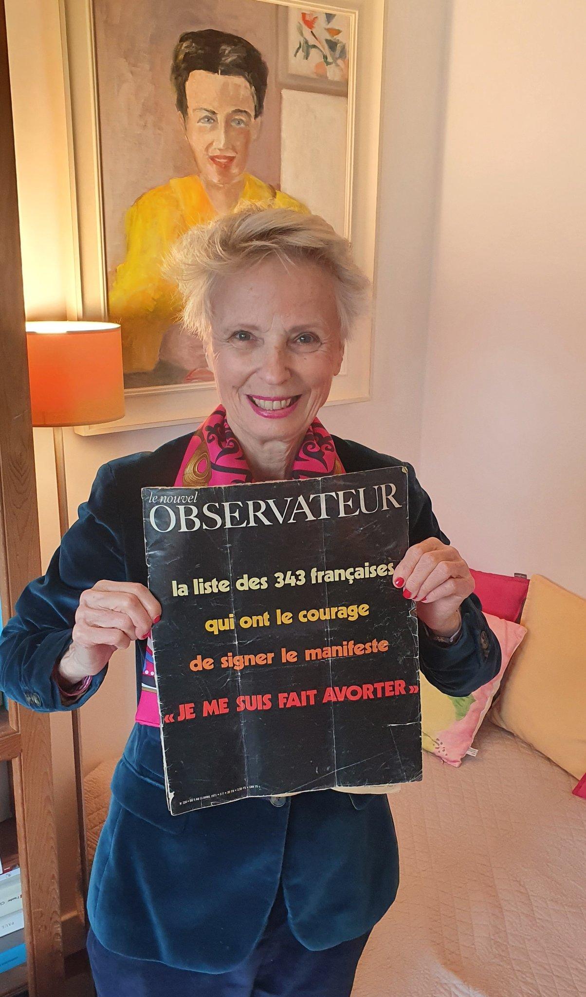 Claudine Monteil tient le manifeste des 343