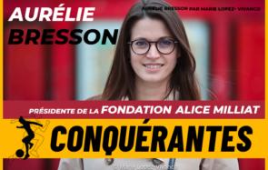 Aurélie Bresson réhabilite les sportives oubliées et défend le sport au féminin