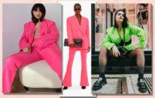 La modeuse @tyciadchannel en costume shoppé sur Amazon à 40€, un modèle Balmain à 1490€, et la modeuse @mendoza.elisabeth en costume Amazon dans une autre couleur
