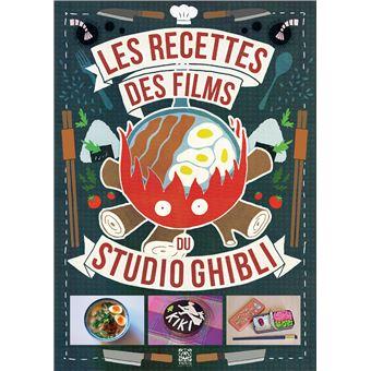 « Les recettes des films du Studio Ghibli » de Minh-Tri Vo, à 17,95€